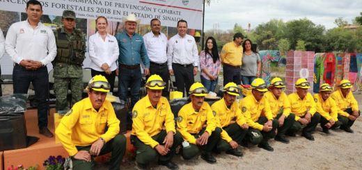Se ejercerán 3 mdp este año en la campaña contra incendios forestales