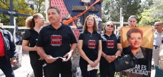 Con homenaje, activistas y familiares recuerdan a Miroslava