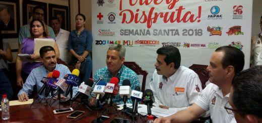 Listo el operativo de semana santa 2018 para Culiacán y Navolato