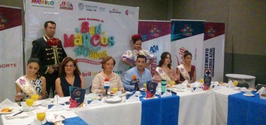 """Promocionan en Sinaloa la Feria Nacional San Marcos 2018 """"Hasta el alma grita"""""""