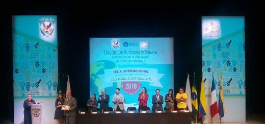Realiza la UAS Feria Internacional de Movilidad Estudiantil 2018