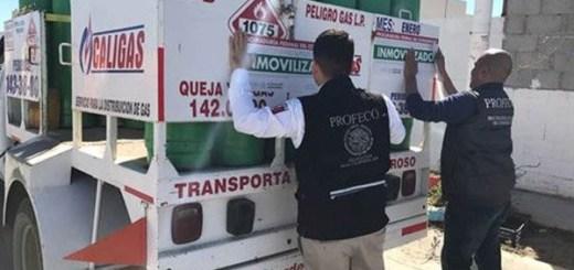 Sanciona Profeco a empresas de gas LP en Sinaloa