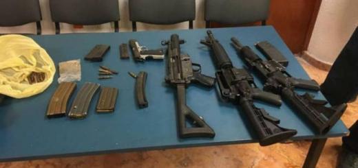 Sentencian a cuatro personas por portación de arma de fuego