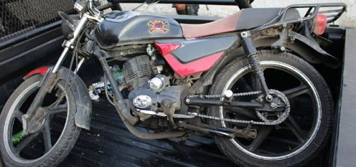 Tres personas son detenidas tras robar motocicletas del corralón