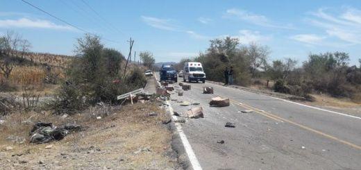 Accidente en carretera de Concordia deja dos heridos
