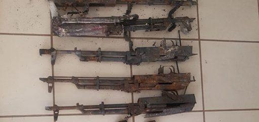Inician investigaciones por el aseguramiento de armas y drogas