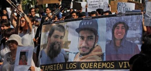 Los tres estudiantes de Jalisco fueron asesinados y sus cuerpos disueltos en ácido: Fiscalía
