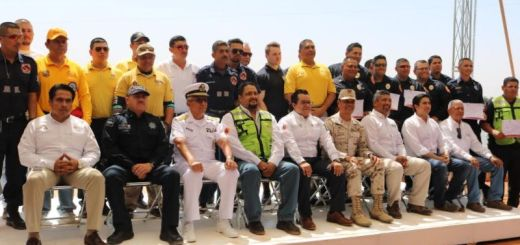 Se capacitan bomberos de Sonora y Sinaloa en rescate Acuático