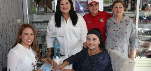 Se gestionarán recursos para modernizar mercados municipales Rosa Elena Millán