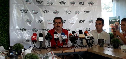 Aarón Rivas dice que se la juega por Culiacán