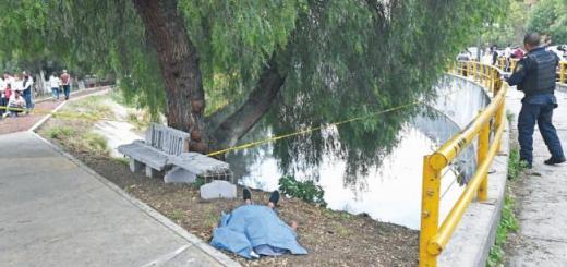 Joven muere ahogado al tirarse a canal para evitar asalto