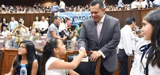 Se manifiesta Misael Sánchez comprometido con la niñez sinaloense
