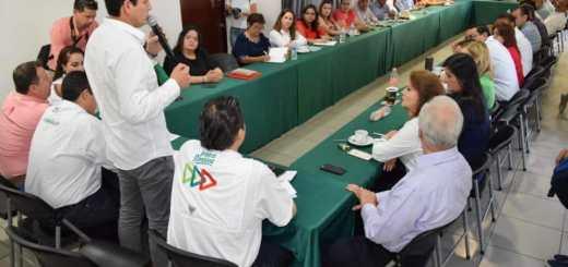Sectores y organizaciones del PRI se reúnen con candidatos en Culiacán