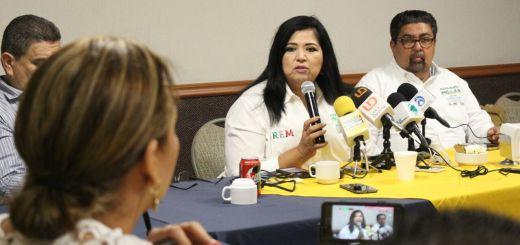 Trabajaré por lo más sensible de Sinaloa, que es su gente, asegura Rosa Elena Millán