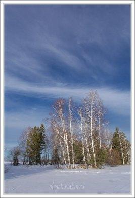 Небо, снег, солнце, фото, Олег Чувакин, 04