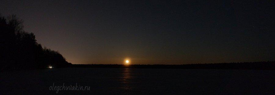 Восход луны, поле, фото, Кинотеатр, повесть Олега Чувакина, промо страница