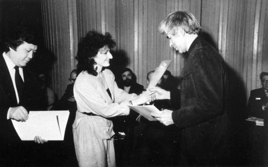 Конкурс гитарных мастеров, 1988, Станислав Москалёв, награждение