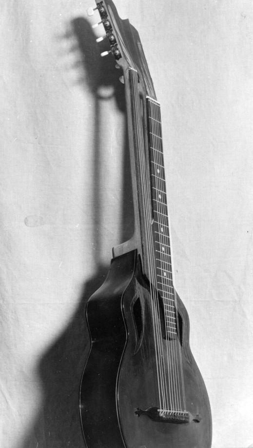 Двухгрифовая гитара, фото, мастер Станислав Иннокентьевич Москалёв, Москва