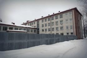 Тюмень, школа номер 6, вид сбоку, фото, Олег Чувакин