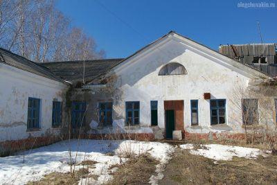 Деревня погибает, развалины, Россия