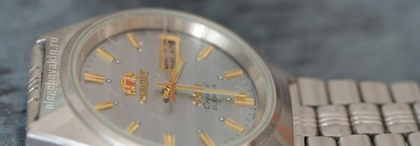 Часы Orient, фото, Олег Чувакин