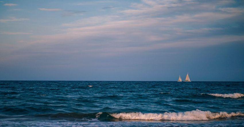 Парус, паруса, море синее, яхта, фото