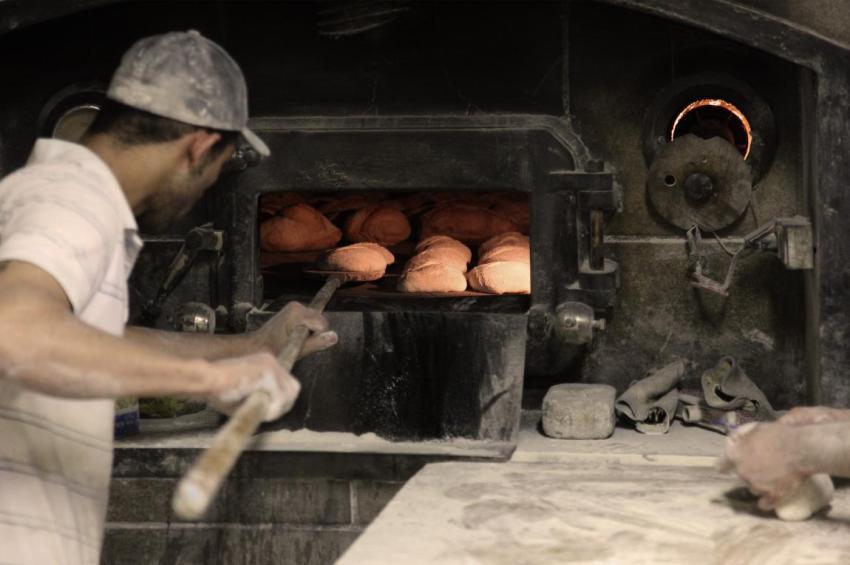 Пекарь, пекарня, печь, хлеб, Санта-Моника