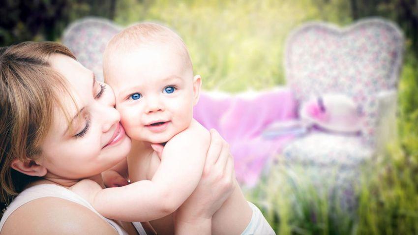 Мать и сын, счастье на ладони, моя счастливая жизнь