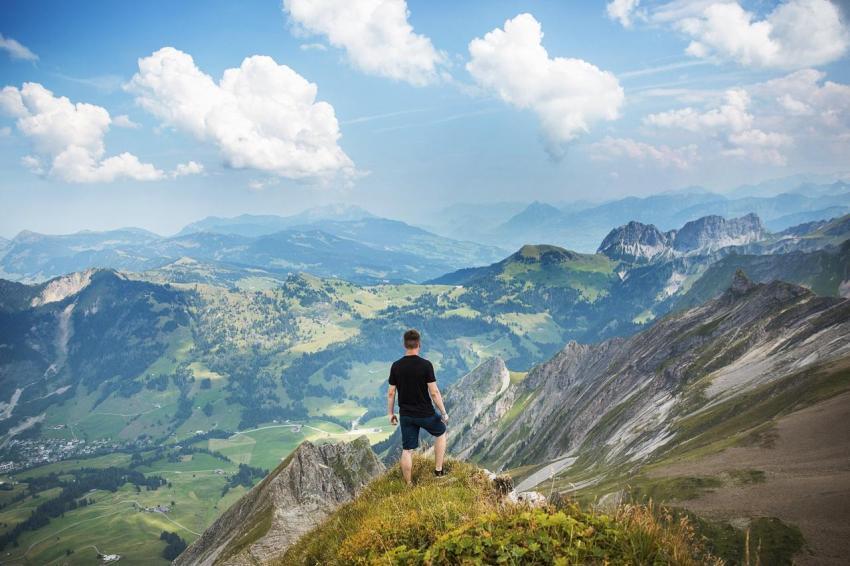 Вершина, гора, достижение, признание, счастье, цель
