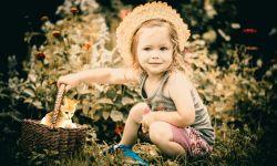 Маленькая девочка, ребёнок, бэби, счастье, мама
