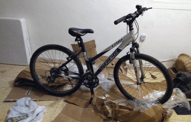 Репатриироваться с велосипедом