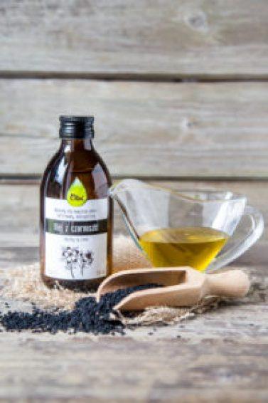 olej z czarnuszki właściwości