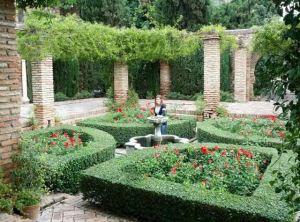 Málaga capital, Jardines de la Alcazaba