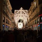 Málaga capital, calle Larios en Navidad