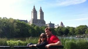 Nueva York, Miguel y Carmen en Central Park