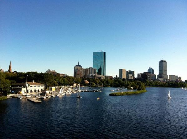 Boston desde Cambridge