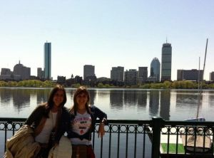 Vistas de Boston desde Cambridge