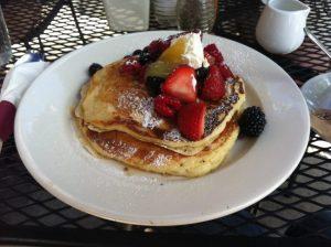 Pancakes en Café Luna