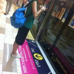 Acceso para mujeres en el metro