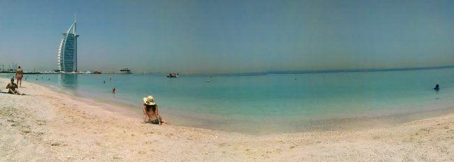 Dubai, playa pública
