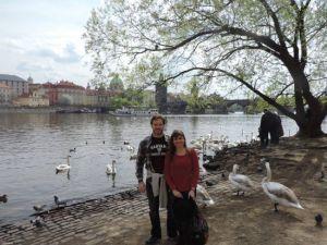 Praga, romántica