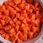 Zanahorias picadas