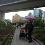 High Line lloviendo
