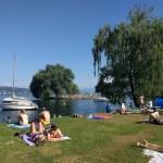 La vida en Zurich, en verano
