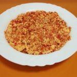 Revoltillo de tomate y huevo, una receta de cocina familiar
