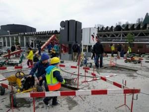 Zona de niños en el Museo del Transporte en Lucerna