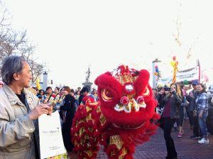 León chino en San Francisco, 2015