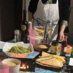 Quesadillas de queso y jamón, una receta fácil internacional