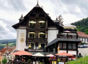 Nuestro hotel en Triberg, Selva Negra