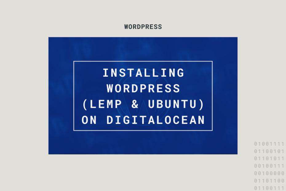 wordpress LEMP Ubuntu